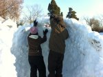 What is better than 10 adults building an igloo? That's right, nothing.